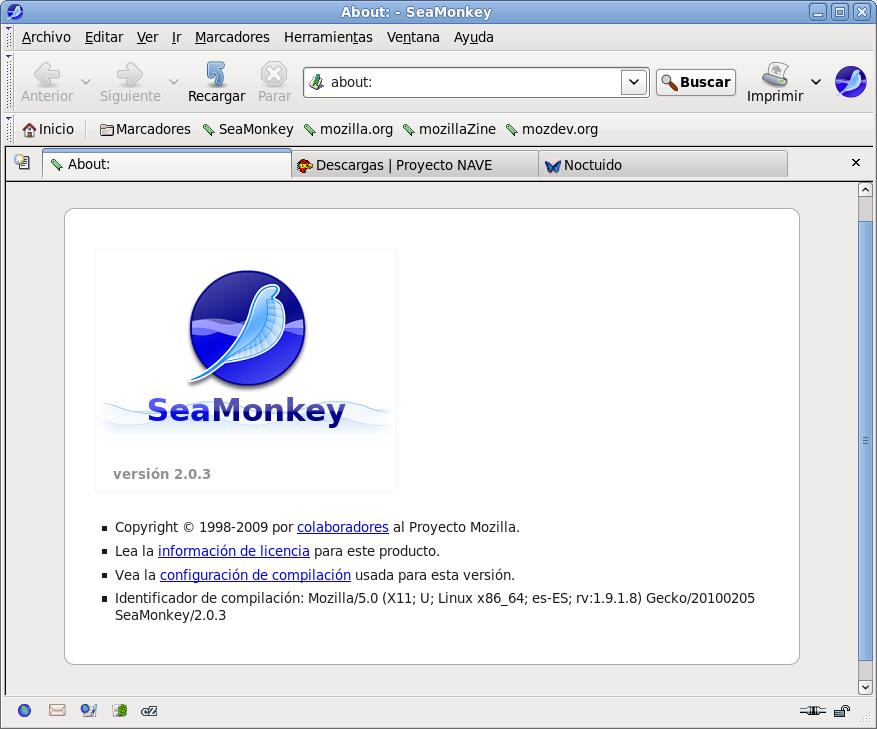 seamonkey 2.0.3