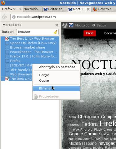 Noctuido | Navegadores web y GNU-Linux. - Mozilla Firefox_098